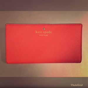 Kate Spade Hot Pink Wallet, New